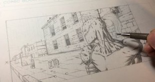 How to Draw Buildings (Comic Book Style)