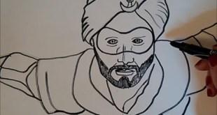 A Flying Jatt  Drawing super hero movie indian - Tiger shroff 2017
