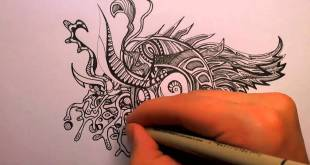 How to Doodle: Some Tips (50x speed)
