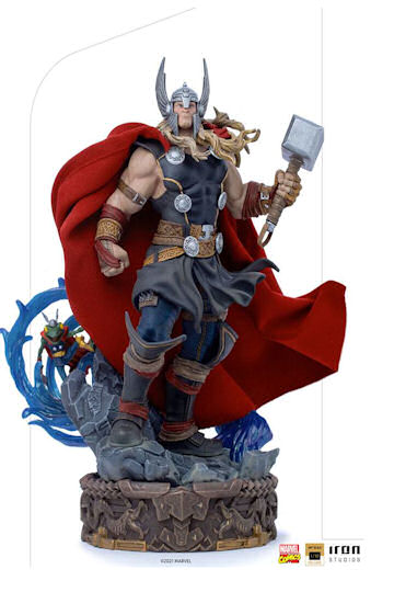 Thor Unleashed Statue from Marvel comes this 1/10th scale statue!