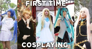 GIRLS TRY COSPLAY FOR THE FIRST TIME | Niigata City