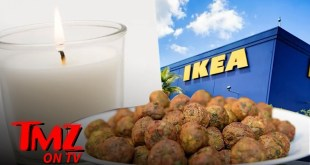 IKEA Selling Meatball Scented Candles | TMZ TV