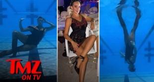 TikTok's Aqua Queen, Kristina Makushenko, Walks on Water | TMZ TV