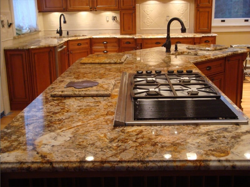 Types Kitchen Countertop Surfaces
