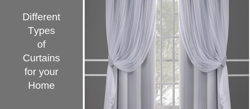 15 Different Types Of Curtains For Your Home Images In 2020