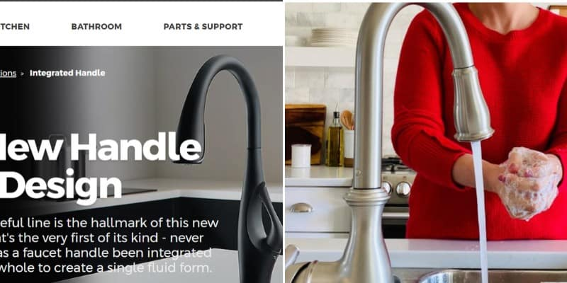 pfister vs moen kitchen faucets