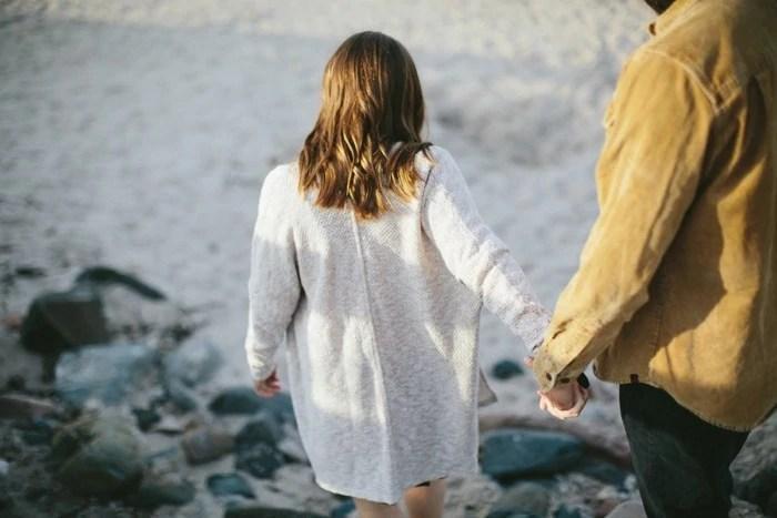 Engagement photos in Northern Ireland Cushendun