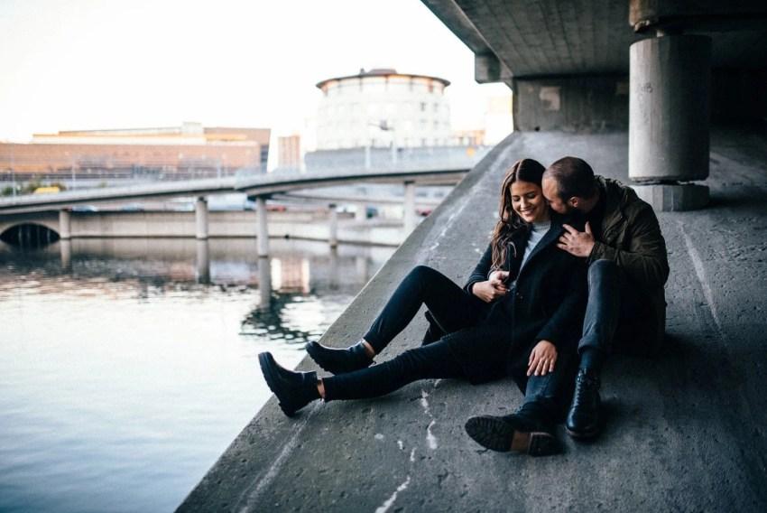 Stockholm Couple session portrait Photographer Sweden