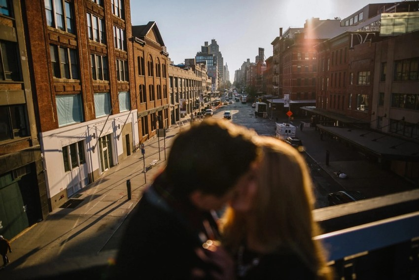 Meat Packing District Engagement Photos New York City Wedding Photographer