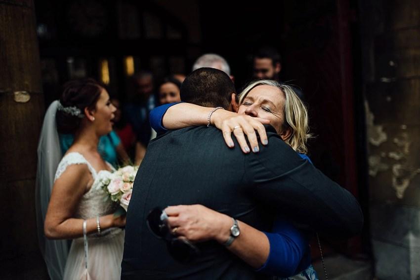 Documentary wedding photographer Dublin Ireland