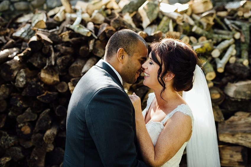 Documentary wedding photographer Ballymagarvey Village Ireland