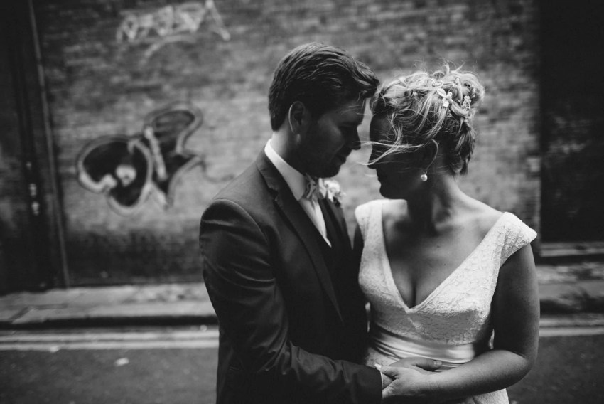 Alternative wedding photographer Dublin Fallon & Byrne
