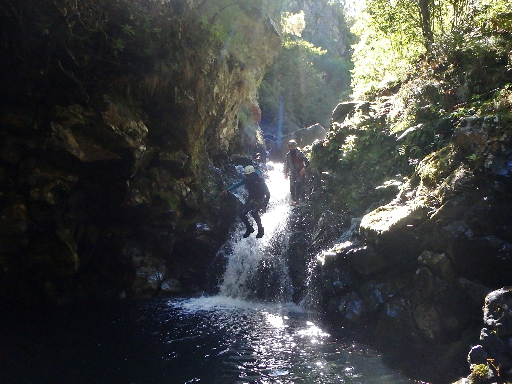 Canyoning in Madeira and the power of overcoming.