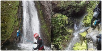 Canyoning intermediate Canyoning advanced Madeira Island