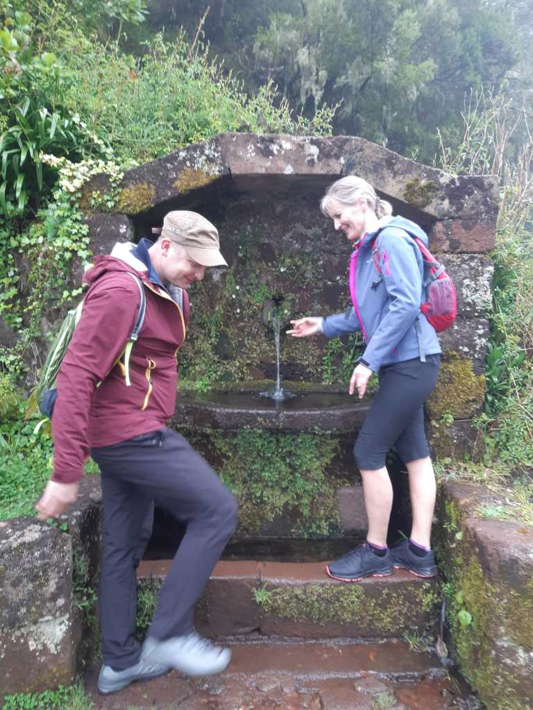 Hiking trekking Levada Madeira Island 25 fountains