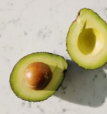 Avocados are a great source of healthy monounsaturated fat and antioxidants