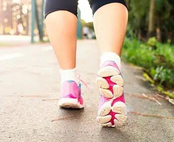Brisk walking can help increase blood flow in brain
