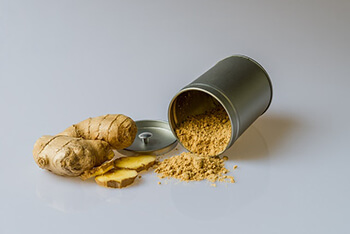 Ginger have anti-inflammatory properties similar to ibuprofen