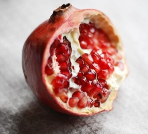 Pomegranate is rich in Vitamin C that is essential in increasing platelet count