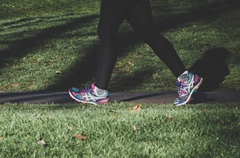 Walking improves circulation and improves overall health