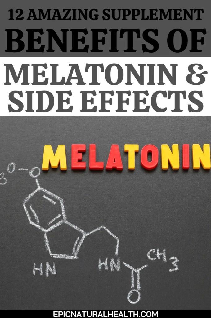 12 amazing supplement benefits of melatonin and side effects
