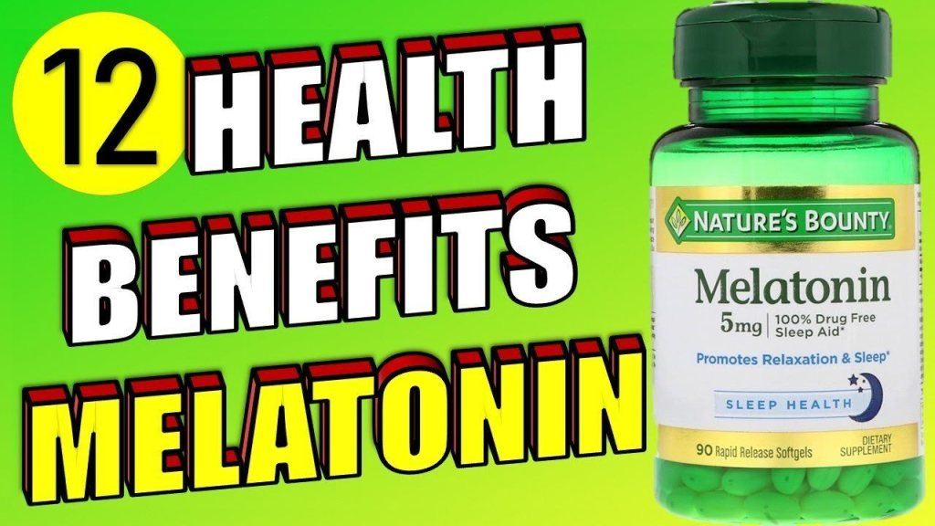 12 health benefits of melatonin