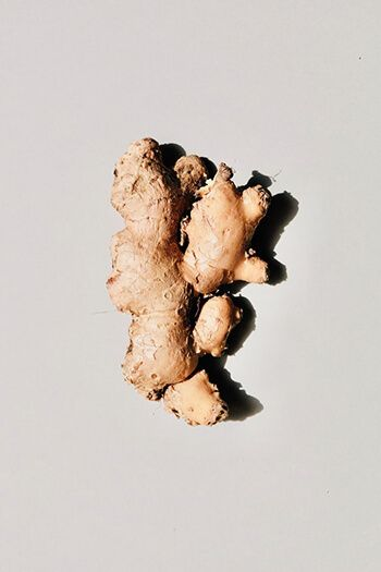 Ginger can help decrease inflammation