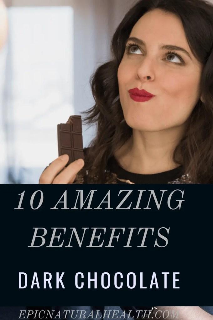 amazing benefits of dark chocolate