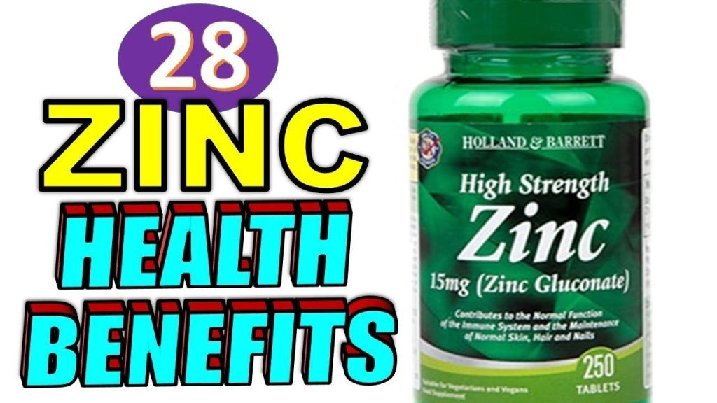 zinc health benefits