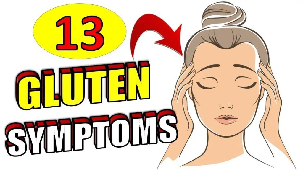 13 Glutten Symptoms