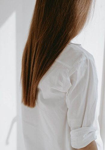 changes in hair growth can also be a sympton of thyroid problem