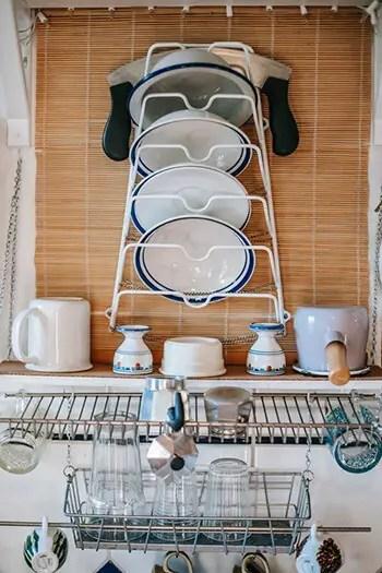 freshen up dish rack