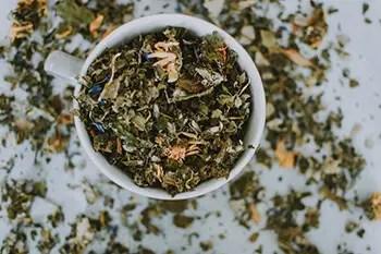 herbal tea to settle upset stomach