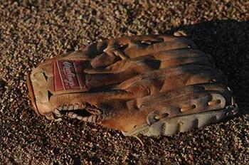 Grease a Baseball Mitt