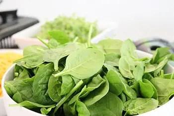 increase dark leafy vegetables in your diet