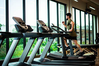 person doing exercise
