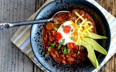 Rocky Mountain Chili {Vegetarian/Vegan/Gluten-free}
