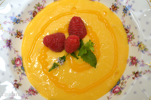 Mango Lemon Soup