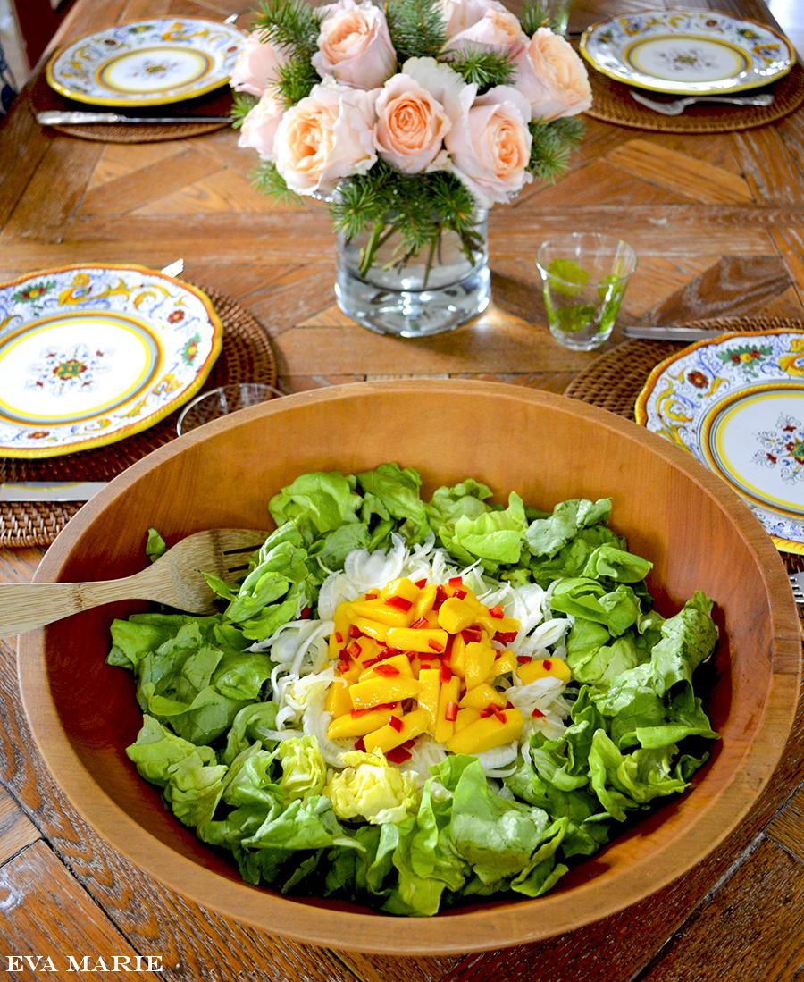 mango fennel salad