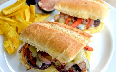 The Veggie Cuban Sandwich