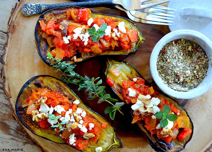 Eggplant Romesco