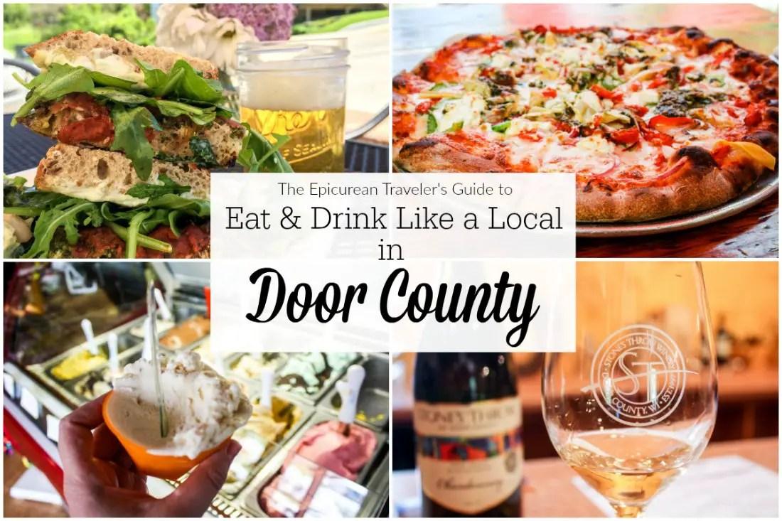 Where Door County Foodies Eat & Drink