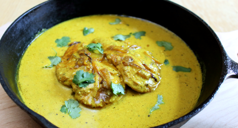 Turmeric Pepper Yogurt Chicken