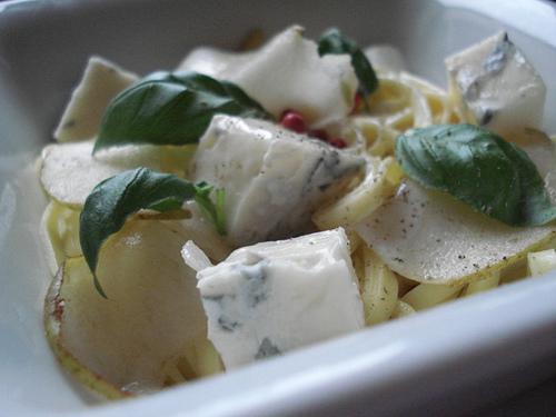 Pâtes aux poires et au gorgonzola