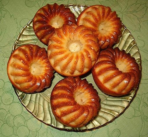 Gâteau aux pommes à la cannelle