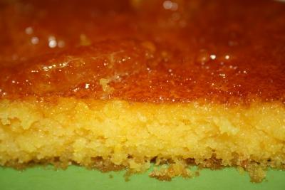 Gâteau fondant à l'orange