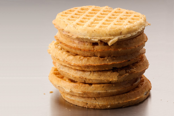 Image result for Whole-grain Frozen Waffle + Peanut Butter