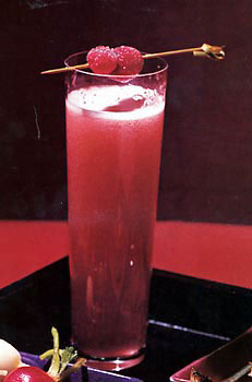 Cosmopolitan Champagne Cocktail