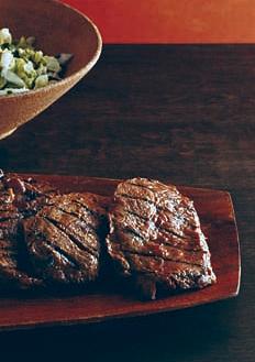 Miso Sesame Grilled Blade Steaks
