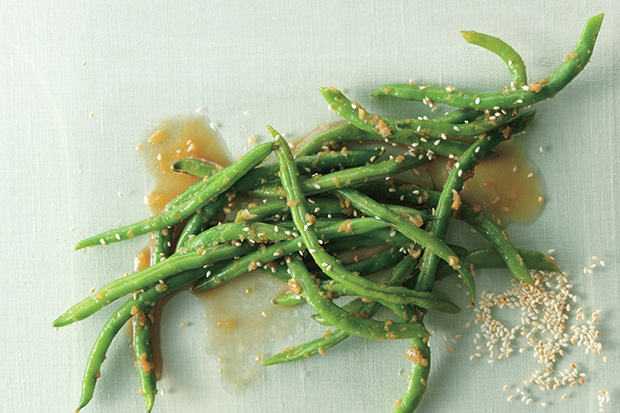 Ginger Garlic Green Beans recipe